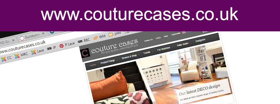 landing page couture cases