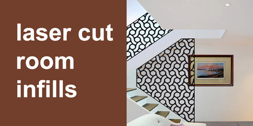 laser cut room room infills by Couture Cases