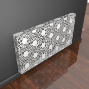 Metal Lace Radiator Covers by Couture Cases