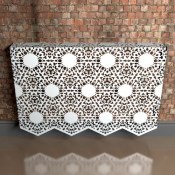 Nottingham-Lace-Fancy-metal radiator-cover