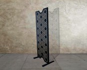 Decorative metal laser cut room dividers