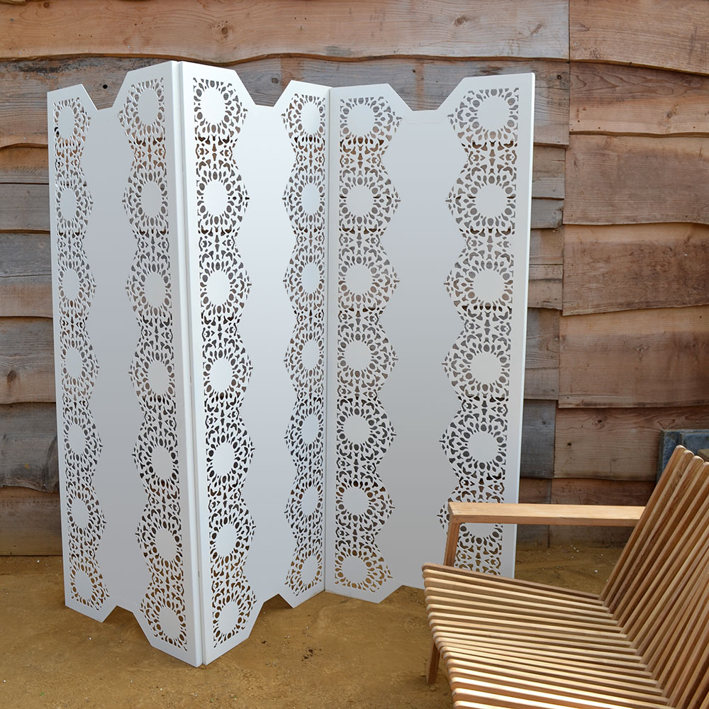 White Lace Screens 5050 V