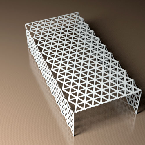 Triangle Pattern Coffee table