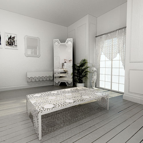 Nottingham Lace Coffee table