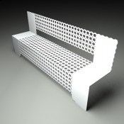 Wall mounted seating from Lace Furniture from Lace Furniture