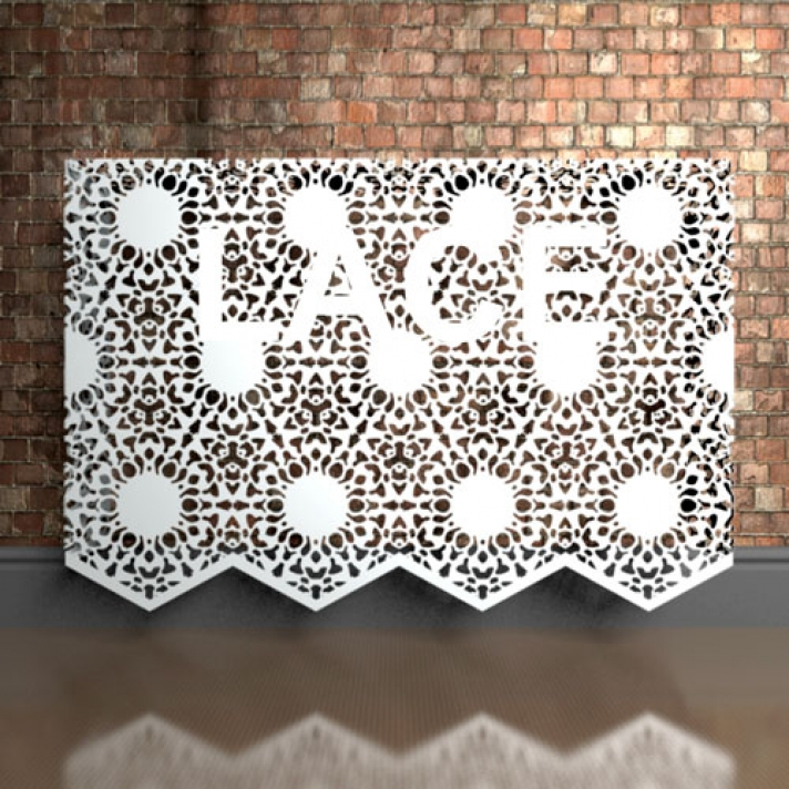 Personalised lace furniture
